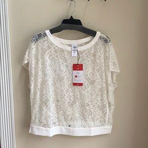 CAbi Spring 2018 Lace Top 5342